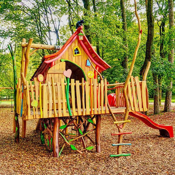 Drevené detské ihriská